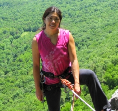 Jannette Pazer, Secretary of the Gunks Climbers' Coalition