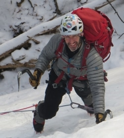 David Wilkes, a climber on the GCC Board of Directors.