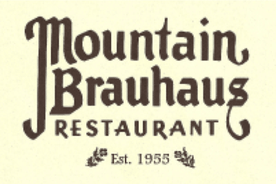 Logo for the Mountain Brauhaus Restaurant