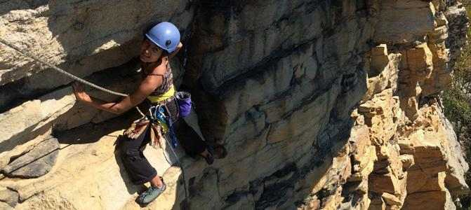 Guided Climbing at the Gunks, image courtesy of Alpine Endeavors.