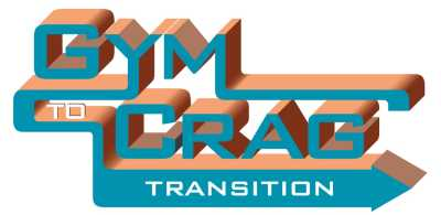The Gunks Climbers' Coalition Gym to Crag Transition Program Logo.