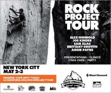 Poster for ROCK project tour, NYC 2015.