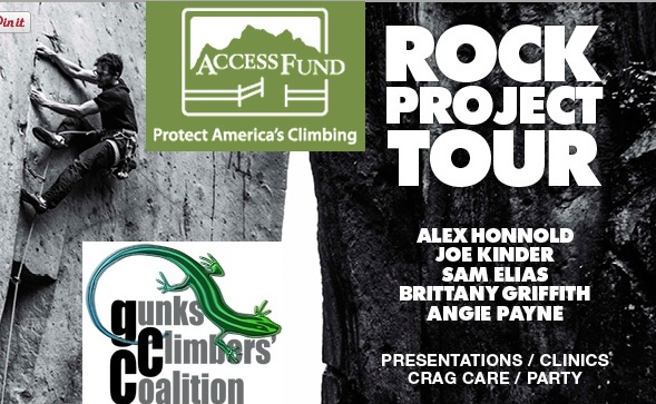 Rock Project Tour and GCC Logo.