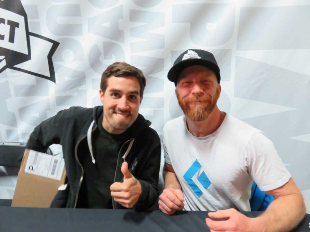 Joe Kinder and Chris Schulte at the ROCK Project Tour, 2015.