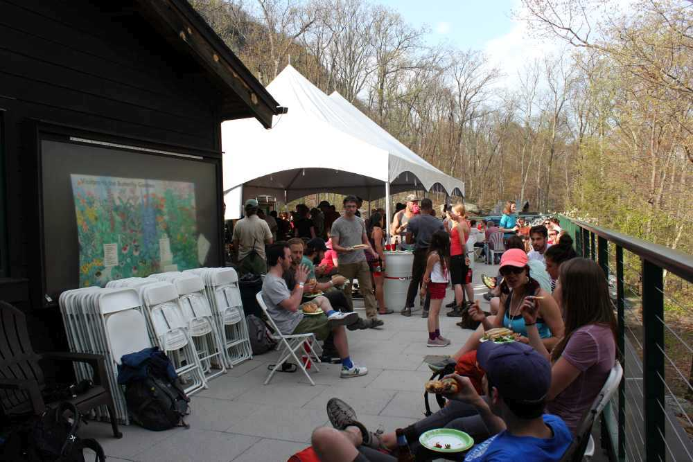 2015 GCC Spring BBQ at the Mohonk Preserve Visitors Center.