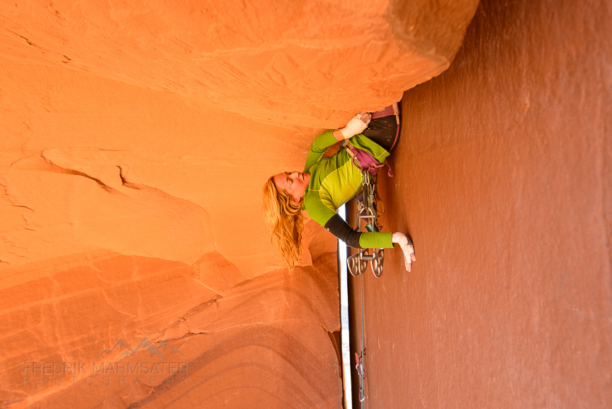 Pamela Pack from Offwidth Outlaw, Photo Fred Marmsater