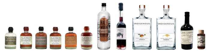 Tuthilltown Spirits - bottles