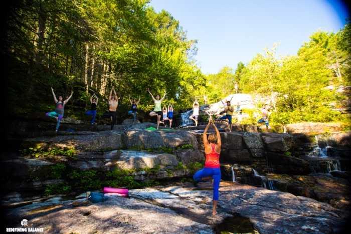 Redefining Balance retreat in New Paltz in Sept 2015.