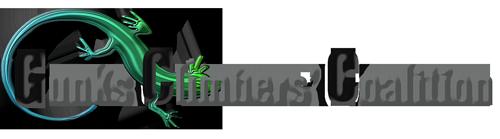 Gunks Climbers' Coalition logo.