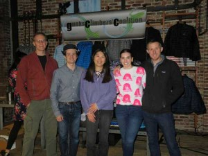 GCC team at the Tommy Caldwell event at the Patagonia Meatpacking District store in NYC.