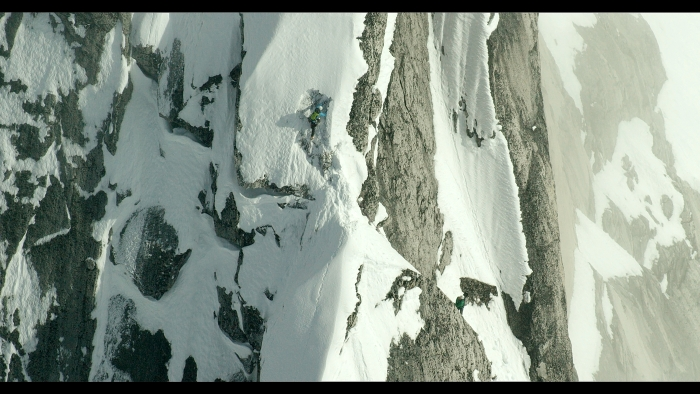 """Scene from the movie """"The Citadel"""" showing mountain climbers."""