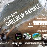 Flash Foxy Girl Crew Ramble poster 2016