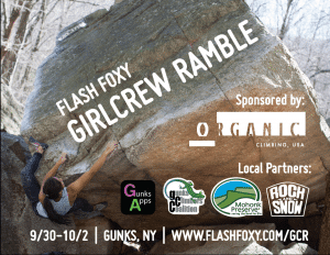 Flash Foxy Girl Crew Ramble poster 2016