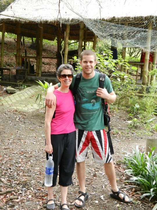 Melissa Raue and Matt exploring Vietnam.