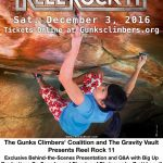 Reel Rock 11 at the Gravity Vault in Poughkeepsie poster