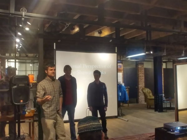 GCC presentation at the GCC event at Patagonia Meatpacking store in NYC on 4/20/2017.