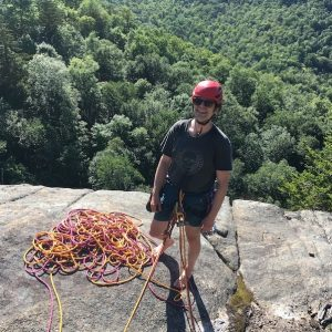 Neil Berenholz, board of directors, Gunks Climbers' Coalition.