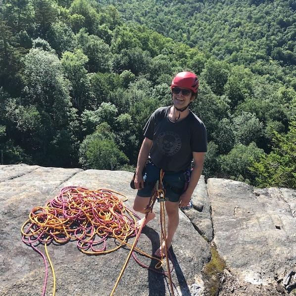 Neil Berenholz, board of directors, Gunks Climbers' Coalition.