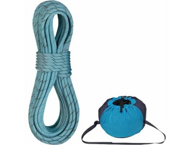 Edelrid 9.7 Pro Dry Rope with Rope Bag donated by Rock and Snow for the Spring 2019 GCC BBQ raffle.
