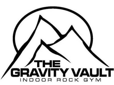 The Gravity Vault indoor rock gyms logo