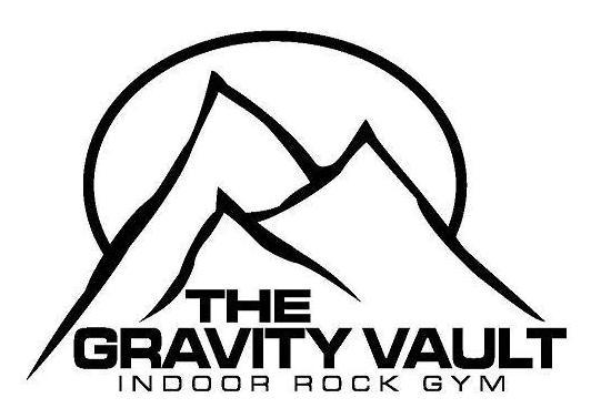 The Gravity Vault indoor rock gyms logo