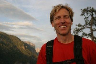Hans Florine, Yosemite climber.