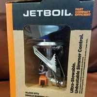 Jetboil stove, donated for the 2017 GCC Fall BBQ.