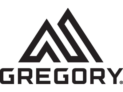 Logo for Gregory Mountain Products.