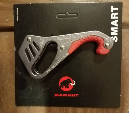 Mammut Smart Belay device donated by Rich Gottlieb of Rock and Snow for the GCC's 2018 Spring BBQ.
