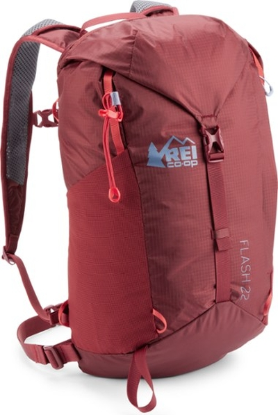 Gunks Climbing Film Festival Raffle Prize: REI Co-op Flash 22 Pack, Dark Red