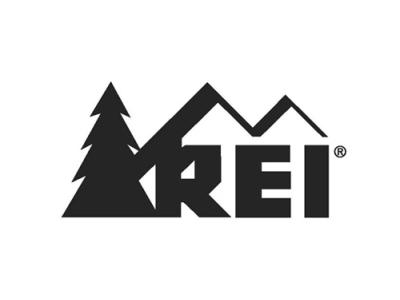 Logo for REI.