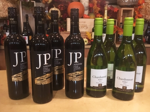 Bottles of wine donated by Stone Ridge Wine & Spirits for our GCC BBQ in 2017. (photo courtesy of Stone Ridge Wine & Spirits)