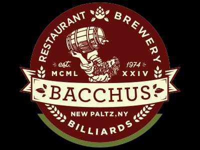Logo for Bacchus Restaurant in New Paltz, NY