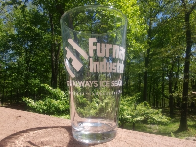 Furnace Industries pint glass