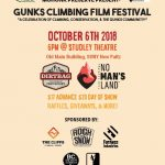 2018 Gunks Climbing Film Festival poster