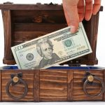 Cash box.