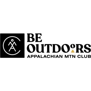 Be Outdoors - Appalachian Mountain Club logo.