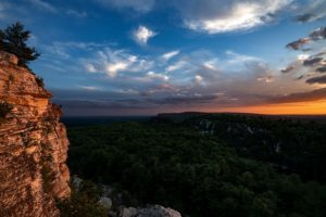 Sunset at the Gunks (photo: Chris Vultaggio)