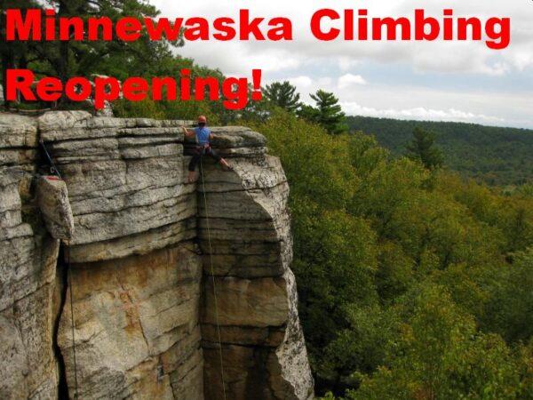Climber on Golden Dream, Peter's Kill, Minnewaska State Park Preserve, NY.
