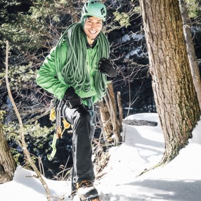 TJ Ciotti, Gunks Climbers' Coalition Board Member