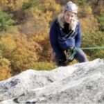 Heather Ettinger, board member of the Gunks Climbers' Coalition.
