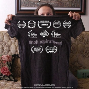 T-shirt for the #notinspirational film